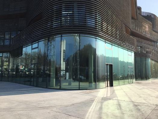 Pavillon 52   Façades : Mur Rideau Acier   Alquier